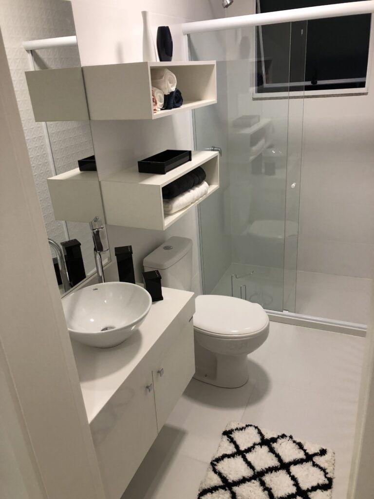 Decorado Infinity banheiro